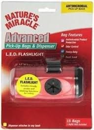 Nature's Miracle, Advanced LED Flashlight Dispenser and Pick Up Bags Product Image