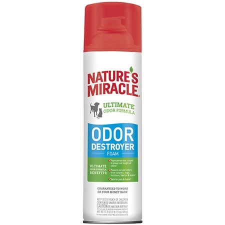 Nature's Miracle Nature's Miracle Odor Destroyer 3 In 1 Foam 17.5 oz Product Image