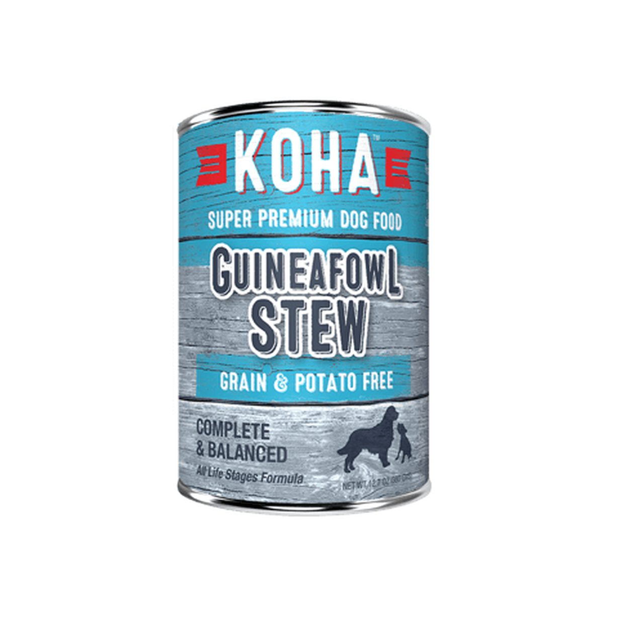 Koha Koha Dog Can Grain Free Guineafowl Stew 12.7 oz Product Image