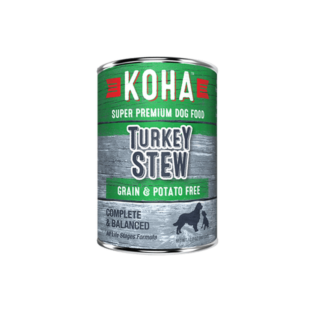 Koha Koha Dog Can Grain Free Turkey Stew 12.7 oz Product Image