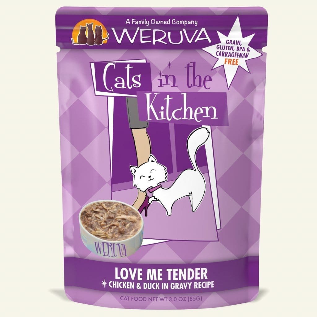 Weruva Weruva Cats in the Kitchen Pouch Grain Free Love Me Tender 3 oz Product Image