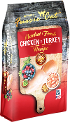 Fussie Cat Fussie Cat Market Fresh Chicken & Turkey Formula Cat Dry 4lbs Product Image