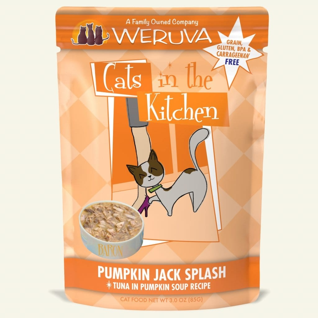Weruva Weruva Cats in the Kitchen Pouch Grain Free Pumpkin Jack Splash 3 oz Product Image