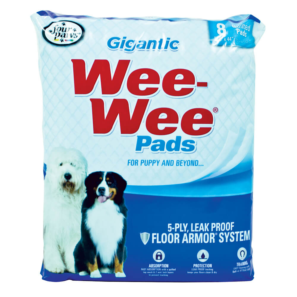 Four Paws Wee-Wee Pads Gigantic 8 Count Product Image