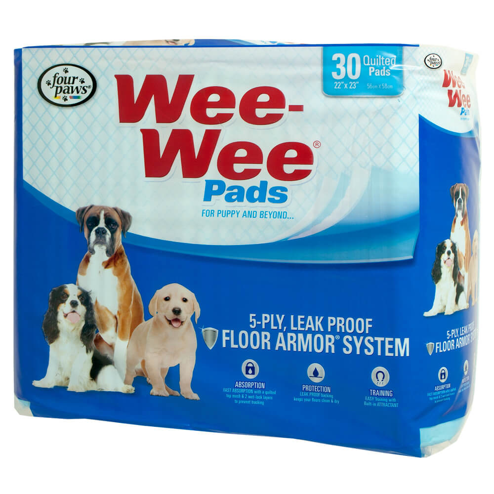Four Paws Wee-Wee Pads 30 Count Product Image
