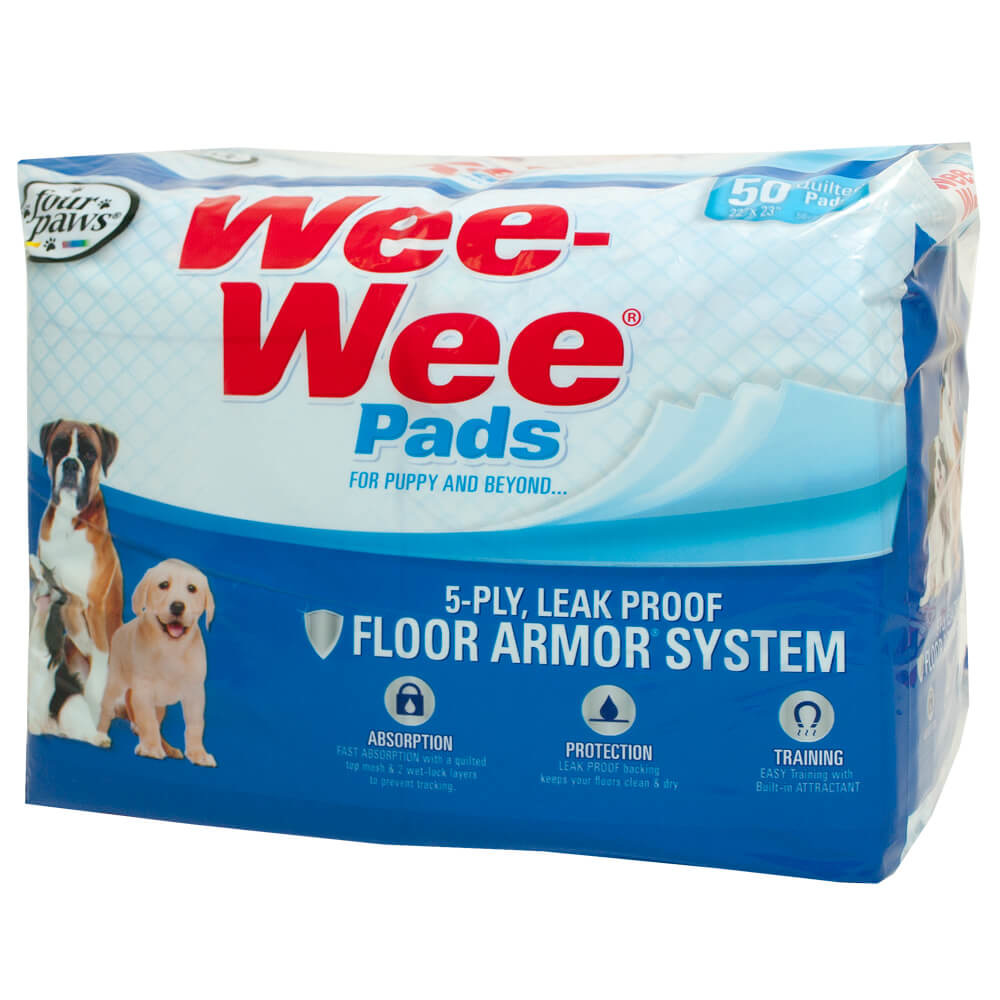 Four Paws Wee-Wee Pads 50 Count Product Image