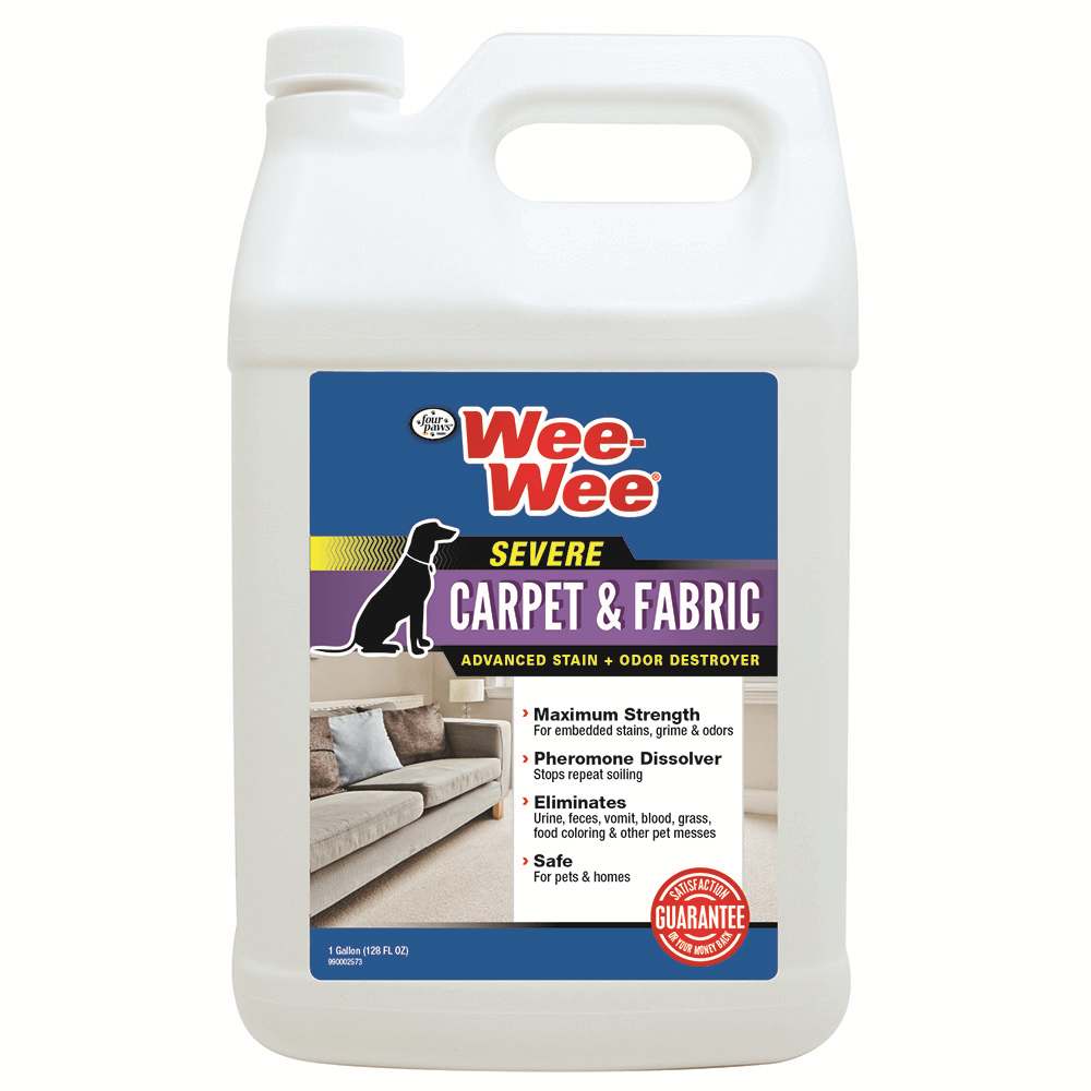Four Paws Wee-Wee Carpet & Fabric Cleaner Gallon Product Image