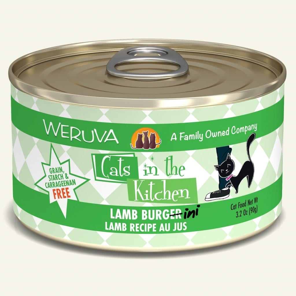 Weruva Weruva Cats in the Kitchen Cat Can Grain Free Lamb Burger-Ini 3oz Product Image