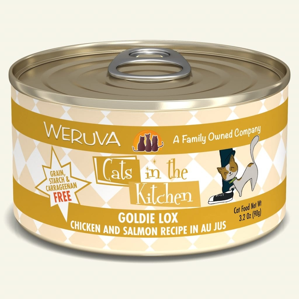 Weruva Weruva Cats in the Kitchen Cat Can Grain Free Goldie Lox 6 oz Product Image