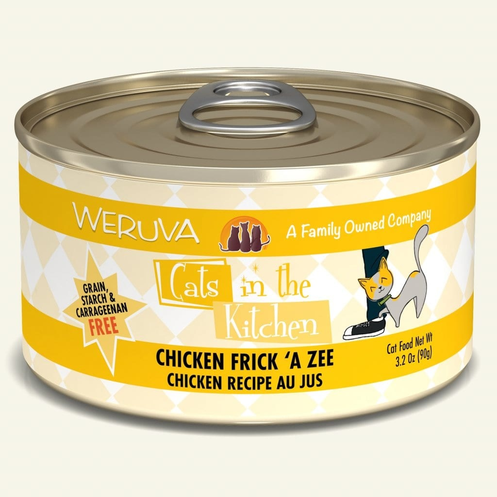 Weruva Weruva Cats in the Kitchen Cat Can Grain Free Chicken Frick 'A Zee 3 oz Product Image