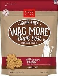 Cloud Star Wag More Bark Less Grain Free Baked Pumpkin 2.5 lb Product Image