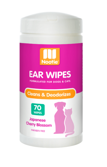 Nootie Nootie Ear Wipes Japanese Cherry Blossom 70 Ct Product Image