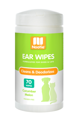 Nootie Nootie Ear Wipes Cucumber Melon 70 Count Product Image