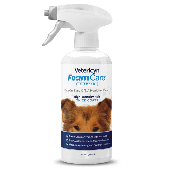 Vetericyn Vetericyn Foamcare Shampoo Pet High Density Hair 16 oz Product Image