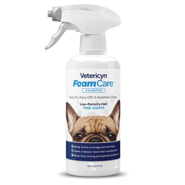 Vetericyn Vetericyn Foamcare Shampoo Pet Low Density Hair 16 oz Product Image