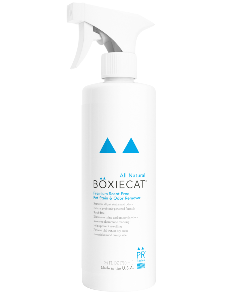 BoxieCat BoxieCat Stain & Odor Scent Free Ready to Use 24 oz Bottle Product Image