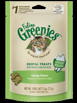 Greenies Feline Greenies Dental Treat Catnip 2.5oz Product Image