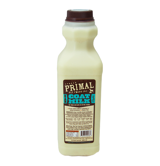 Primal Pet Foods Primal Raw Goat Milk 32oz Product Image