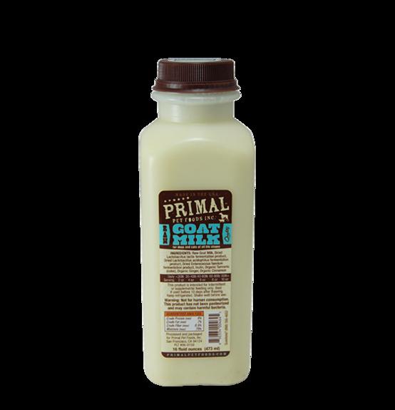 Primal Pet Foods Primal Raw Goat Milk 16oz Product Image