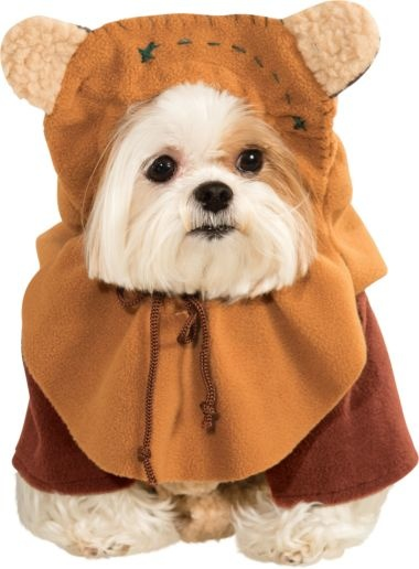 Rubies's Pet Shop Rubie's Pet Star Wars Ewok Costume Small Product Image