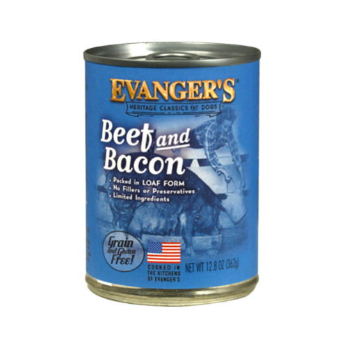 Evanger's Evanger's Classic Beef & Bacon Dog Can 13oz Product Image