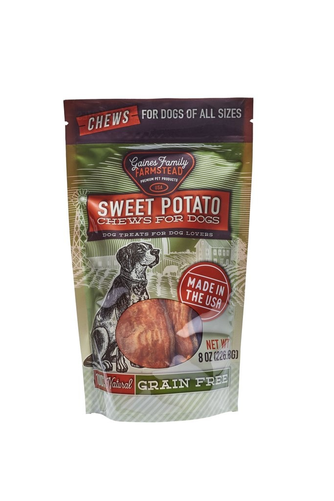 Gaines Family Farmstead Gaines Family Farmstead Sweet Potato Chews 4oz Product Image