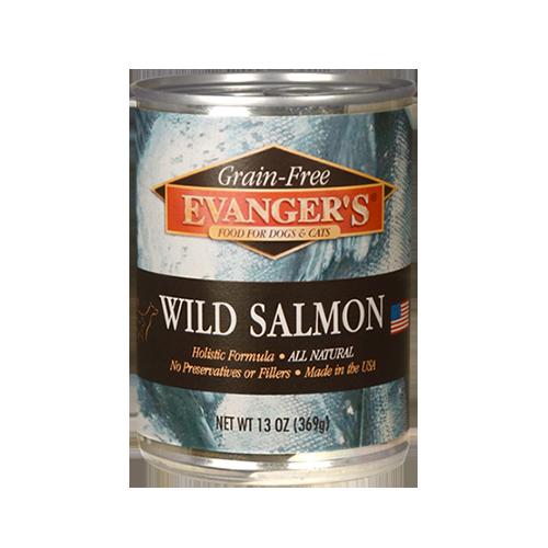 Evanger's Evanger's Dog & Cat Can Grain Free Wild Salmon 12oz Product Image
