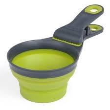 Dexas Dexas Popware Collapsible Klipscoop 2 Cup Green Product Image