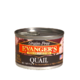 Evanger's Evanger's Dog & Cat Can Grain Fee Quail 6oz Product Image