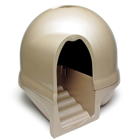Petmate Petmate Booda Dome Cleanstep Litter Box Titanium Product Image