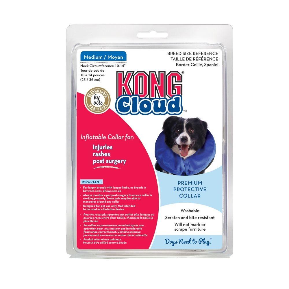 """KONG Kong Cloud Collar Medium 10""""-14"""" Product Image"""