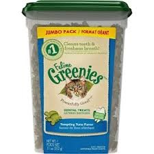 Greenies Feline Greenies Dental Treat Tempting Tuna 11oz Product Image