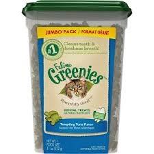 Greenies Feline Greenies Dental Treat Tempting Tuna 11oz Product Image