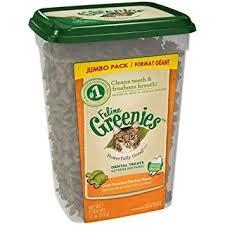 Greenies Feline Greenies Dental Treat Oven Roasted Chicken 11oz Product Image