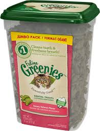 Greenies Feline Greenies Dental Treat Savory Salmon 11oz Product Image