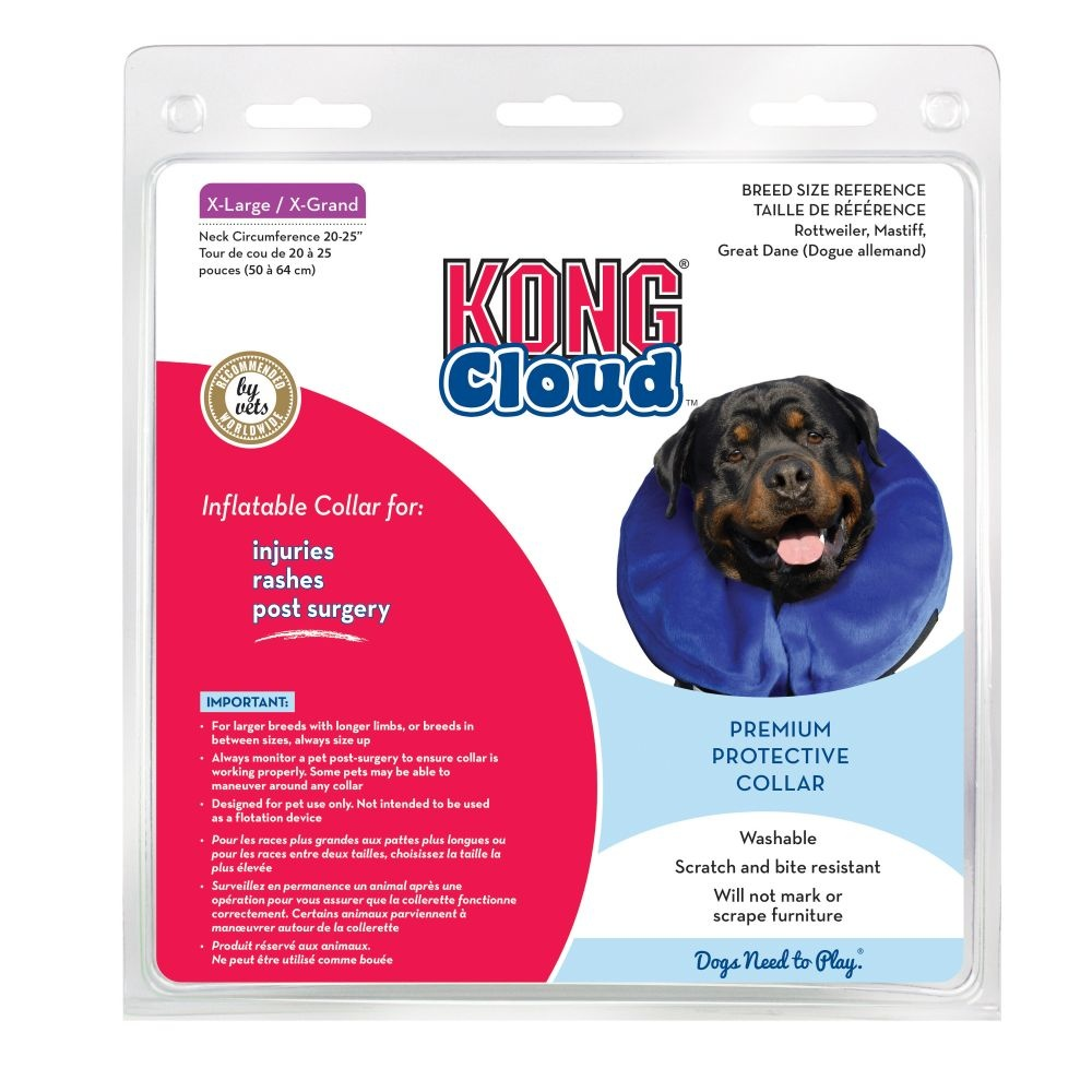 "KONG Kong Surgical Collar Cloud XLarge Neck Size 18"" & Up Product Image"