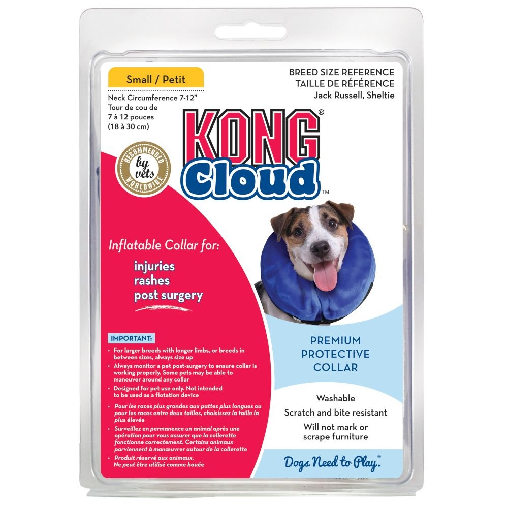 "KONG Kong Surgical Collar Cloud Small Neck Size 6-10"" Product Image"