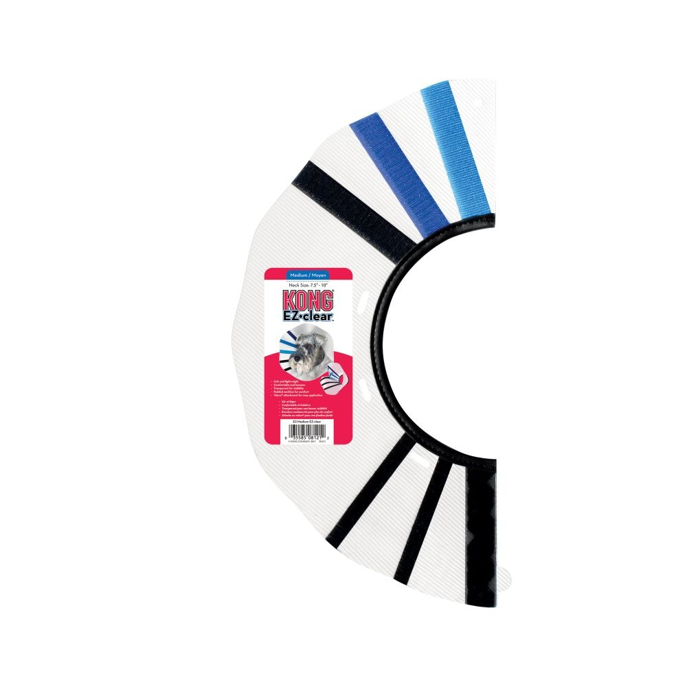 "KONG Kong Surgical Collar E-Collar Medium 10-14"" Neck Product Image"