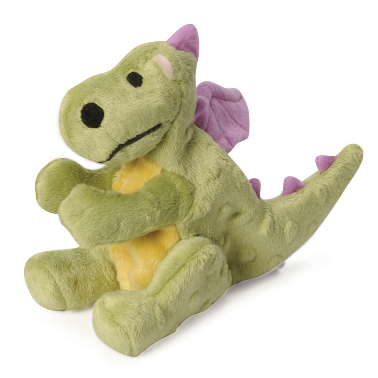 GoDog GoDog Dragon with Chew Guard Toy Lime Small Product Image