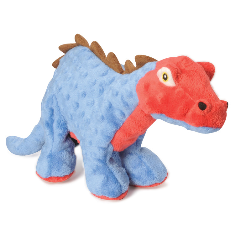 GoDog GoDog Stegosaurus with Chew Guard Blue Small Product Image