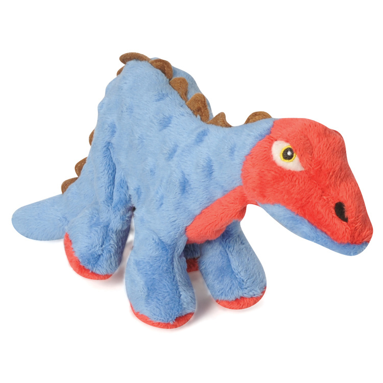 GoDog GoDog Stegosaurus with Chew Guard Blue Large Product Image