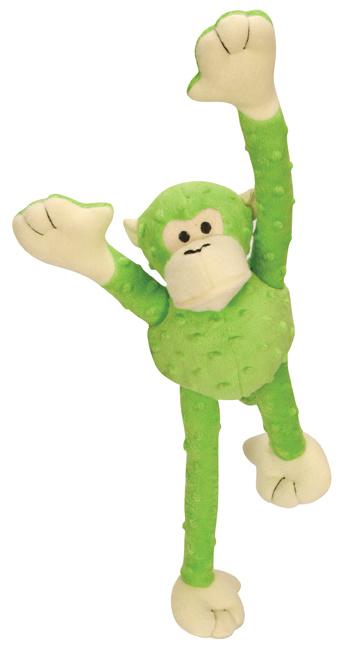 GoDog GoDog Crazy Tugz with Chew Guard Monkey Small Lime Product Image