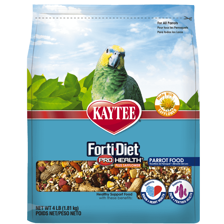Kaytee Kaytee FortiDiet ProHealth Parrot with Safflower 4lb Product Image