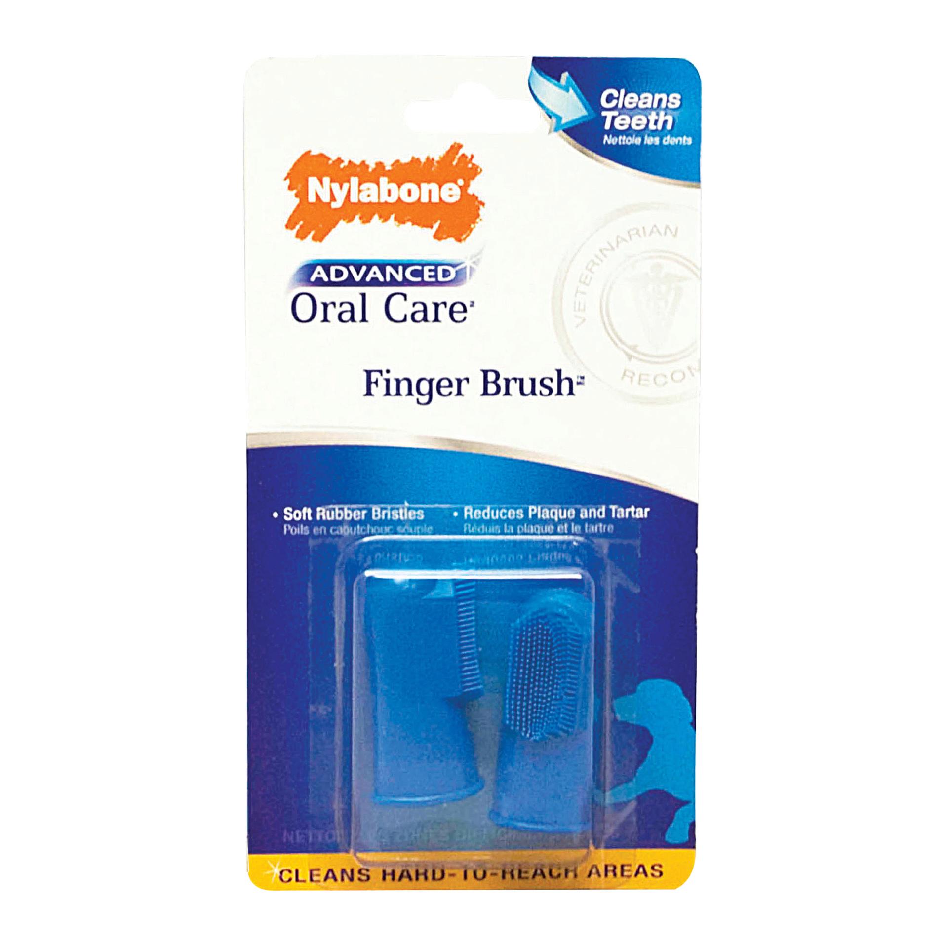 Nylabone Nylabone Advanced Oral Finger Brush 2 Count Product Image