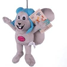 Multipet MultiPet Rocky the Squirrel Toy Product Image