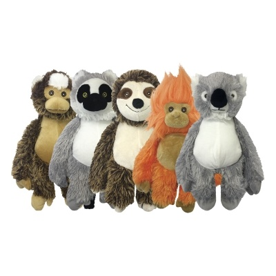 "Multipet Multipet Dog Toy Bark Buddies 10"" Assorted Product Image"