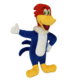 "Multipet MultiPet Woody Woodpecker 11"" Product Image"