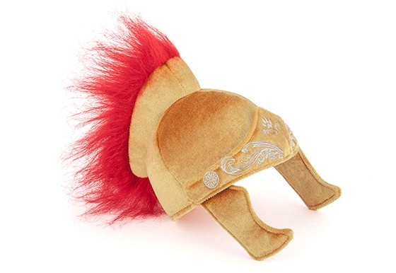 P.L.A.Y. Pet PLAY Hat Shoppe Gladiator Helmet Toy Product Image