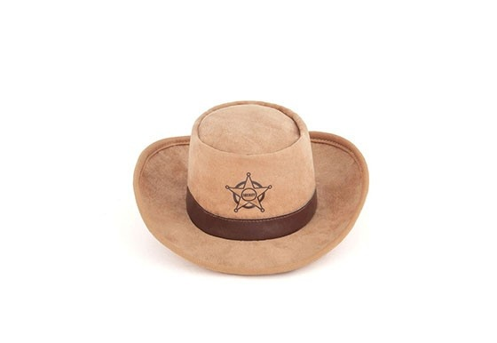 P.L.A.Y. Pet PLAY Hat Shoppe Sheriff Hat Toy Product Image