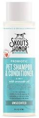 Skout's Honor Skout's Honor Grooming Shampoo Plus Conditioner 16 oz Unscented Product Image